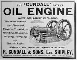 Cundall Advertisement c1904
