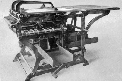 A Cundell Folding Paper Machine