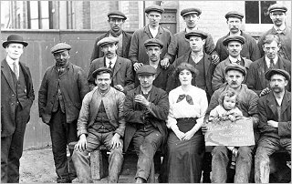 Cundall's Employees 1915