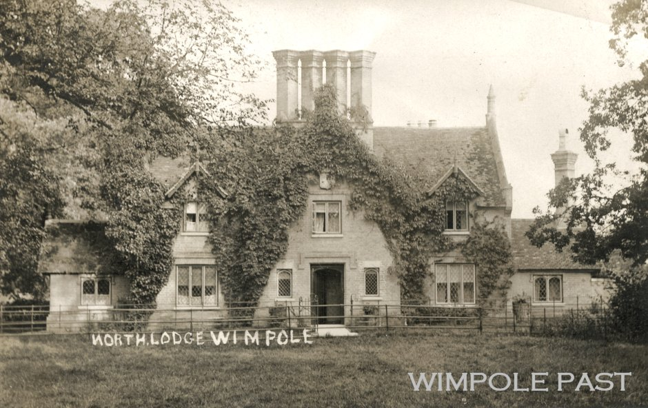 North Lodge, Wimpole Estate, c1905