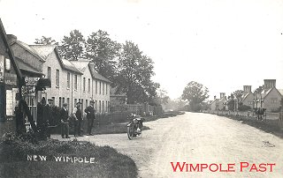 Cambridge Road and Mototcycle Shop c1912