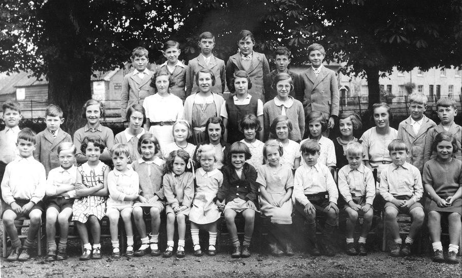 Wimpole Church of England School, Pupil Group, October 1938