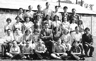 Wimpole Park School Pupils, Senior Class, 10 July 1953